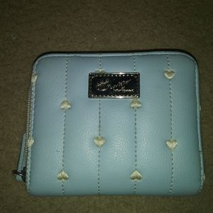 Betsey johnson baby blue wallet